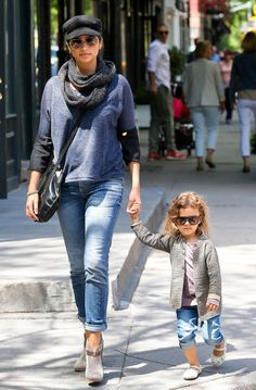 Stylish Mama and Daughter duo, Camilla Alves and Vida