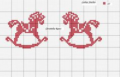 Embroidery in Cross Point Cleozinha Cross Stitch Horse, Cross Stitch Baby, Cross Stitch Animals, Cross Stitch Charts, Cross Stitch Patterns, Filet Crochet, Crochet Cross, Diy Embroidery, Cross Stitch Embroidery