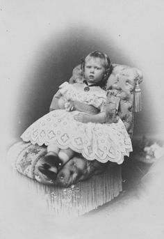Princess Sophie as young child