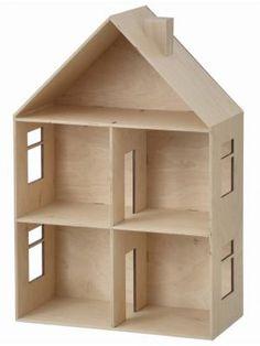 Ferm Living Poppenhuis multiplex 40x60cm | Dollhouse #kidsroom