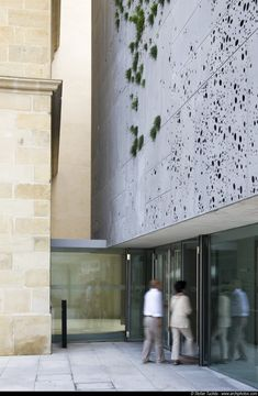 San Telmo Museum / Nieto Sobejano Arquitectos Concrete with holes. And with grass groaning from the walls.