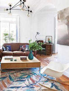 Un appartement entre vintage et classique   PLANETE DECO a homes world   Bloglovin'