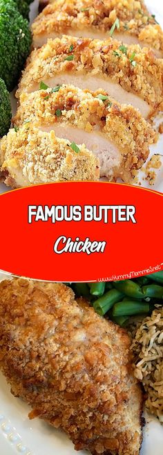 FAMOUS BUTTER CHICKEN Via #yummymommiesnet #chickenrecipes chicken recipes #chickendinner chicken dinner recipes #easyrecipes easy recipes #recipeoftheday recipe of the day #chickensalad chicken salad recipe #chickencasserole chicken casserole recipes