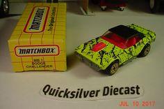 Matchbox 1973 Dodge Rallye Challenger Chartreuse 1993 1 Box