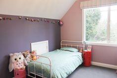 Aubergine Colour, Color Balance, Kids Bedroom, Hue, Feel Good, Toddler Bed, Bedding, Delicate, Palette