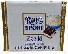RITTER SPORT Fake Schokolade Zaziki