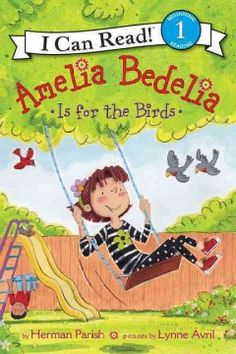 ER PAR. Amelia Bedelia's after-school routine includes playing on her swing set every day, but when she discovers that robins are building a nest atop her slide, she watches them raise a family, instead.