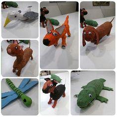 La #gaviota de Martín, el #zorro de Mario, el #perro de Bea, el perro de Maya, la #libélula de Oscar, Mcqueen de Carol y el #cocodrilo de…