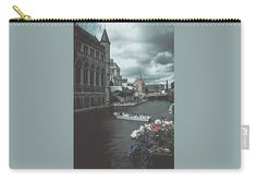 Travel Carry-all Pouch featuring the photograph The City Of Flowers by Elena Ivanova IvEA  #ElenaIvanovaIvEAFineArtDesign #Decor #Gift #CarryAllPouches