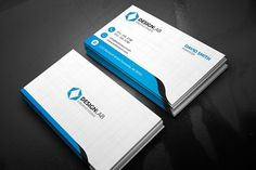Floral spring business card land art business cards and card clean modern business card reheart Image collections