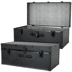 Http://www.worthpoint.com/worthopedia/vintage Aluminum Footlocker Trunk 163271401  | Trunks | Pinterest | Footlocker, Trays And Vintage