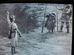 David and Goliath - Painting