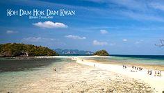 Unseen Krabi Thailand Koh Dam Hok Dam Kwan Muang, Krabi, Thailand