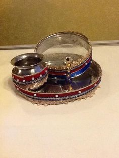 1st choice: Karva chauth thal. Product available at: https://www.facebook.com/1stchoicegift