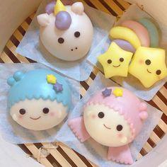 Bread Bun, Bread Cake, Cupcake Party, Party Cakes, Kawaii Bento, Cute Baking, Bao Buns, Steam Recipes, Steamed Buns