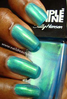 Sally Hansen Triple Shine Nail Color, Make Waves | Nails Beautiqued