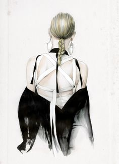 Fashion week illustration - For more styling tips and inspiration check out my website www.littlepinkmoto.comBehance