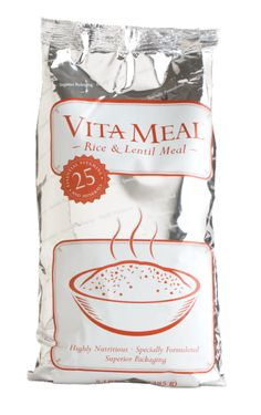 One bag of VitaMeal holds 30 child-sized meals—enough to provide one nourishing meal a day to a child for a month.