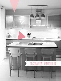 1000 images about cuisine kitchen on pinterest modern kitchen decor cui - Deco interieur design ...