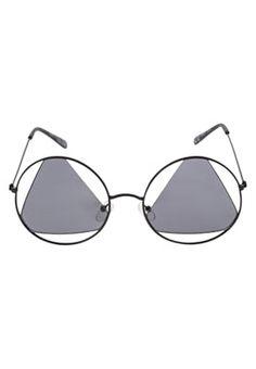 Even&Odd what's that? Triangle-bra sunglasses?