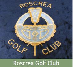 Founded in 1892 nestled under the Slieve Bloom Mountains. Golf Clubs, Bloom, Symbols, Mountains, Glyphs, Bergen, Icons