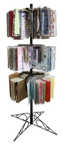 Clip It Up - Stand along model...Great way to keep scrapbooking supplies organized.