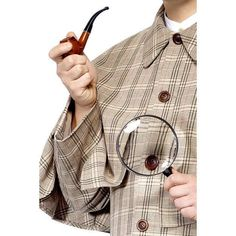 Sherlock Holmes Accessory Kit Magnifying glassPipeIt's elementary, my dear Watson! I've solved the mystery thanks to the Sherlock Holmes accessory kit! This set Halloween Outfits, Christmas Costumes, Adult Halloween, Halloween Costumes, Movie Costumes, Sherlock Holmes Costume, New Sherlock Holmes, Detective Sherlock Holmes, Sherlock Poster