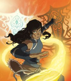 Legend of Korra Book 3 DVD art