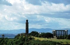 Nelson Monument and Calton Hill