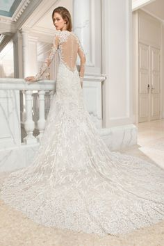 Wedding gown by Demetrios Couture