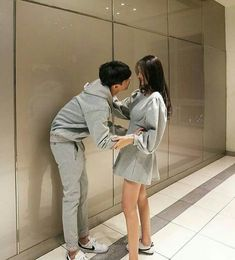 """""""Lets waiting for the babies"""" Matching Couple Outfits, Matching Couples, Cute Relationship Goals, Cute Relationships, Ulzzang Couple, Ulzzang Girl, Cute Couples Goals, Couple Goals, Cute Korean"""