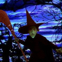 """The Wicked Witch of the West from """"The Wizard of Oz"""" ~ She and her flying monkeys scared me so badly the first time I watched this movie when I was a little child.  I totally forgot that Dorothy was having a dream!"""
