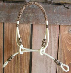 Buckaroo Leather- Indian Hackamore- I actually think I like this better than the bosal.