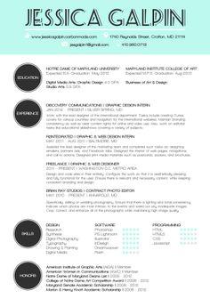 Branding Me: Present + Past by Jessica Galpin, via Behance