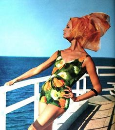 Swimwear for Burda Moden, Spring/Summer 1964