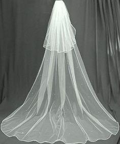 Glimmer Diamond White 2 Tier Cathedral Swarovski Crystal Rhinestones Bridal Wedding Veil Extra Wide Shop Ginger Wedding http://www.amazon.com/dp/B006Q2NSZK/ref=cm_sw_r_pi_dp_pbFUtb1X97WWGBMB