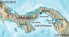 Hummmmm, two oceans to choose from makes Panama a really interesting choice.