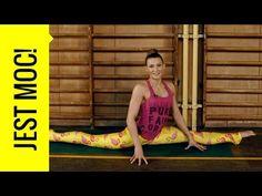 Ćwicz z Kasią Bigos - jak zrobić szpagat? Ćwiczenia rozciągające do szpagatu - YouTube