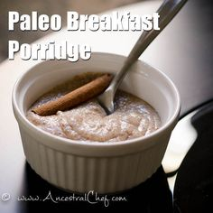 A delicious real food, anti-inflammatory, amazing replacement to my ole time fave.. Cream of Wheat!