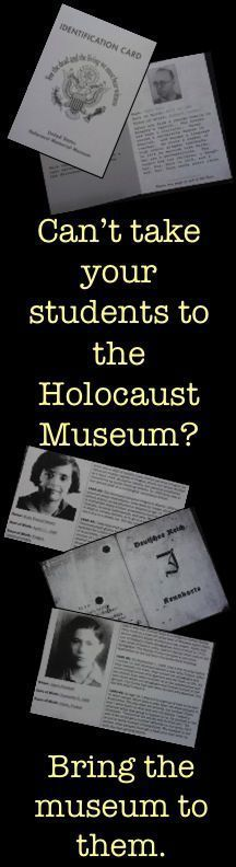 These 37 FREE identity cards are designed to help students make personal connections with the victims of the Holocaust, and could be used before a novel study or a history lesson.