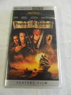Pirates of the Caribbean: The Curse of the Black Pearl Movie (UMD, 2006) *NEW*