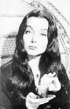 I did not want to be like Barbie when I was a little girl. I wanted to be just like Morticia Addams!