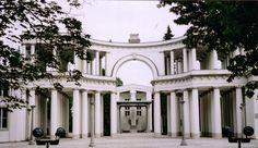 The grand entrance to the magnificent Zale   Cemetry, Ljubljana. 1938-1940