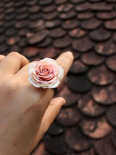 Adjustable Ring, flowers ring, vintage ring , jewelry , bronze