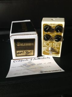 Mojo Hand FX Iron Bell Fuzz Limited Edition