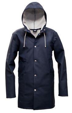 Stockholm Blå – Stutterheim Raincoats - $295
