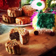 五仁月餅 Five Nuts Mooncakes for Mid Autumn Festival #midautumnfestival
