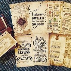 Always #filofax #filofaxing #pottermeetsplanner #harrypotter #potterfilo…