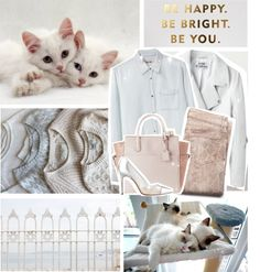 """""""be happy. be bright. be you."""" by myduza-and-koteczka ❤ liked on Polyvore"""