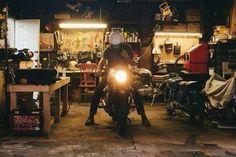 Garage old school ..